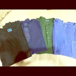 Men's J. Crew Long Sleeve Shirt Bundle